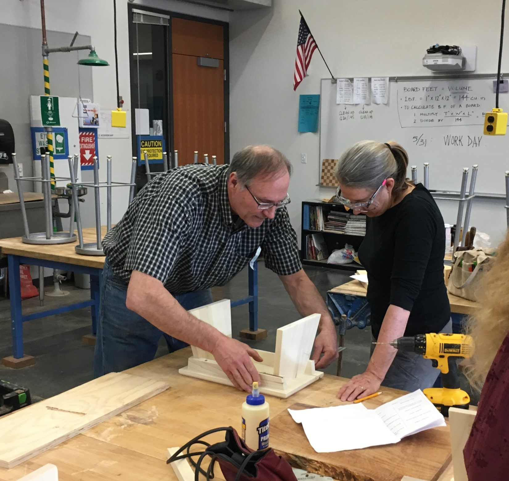 first intro to woodworking class proves very popular